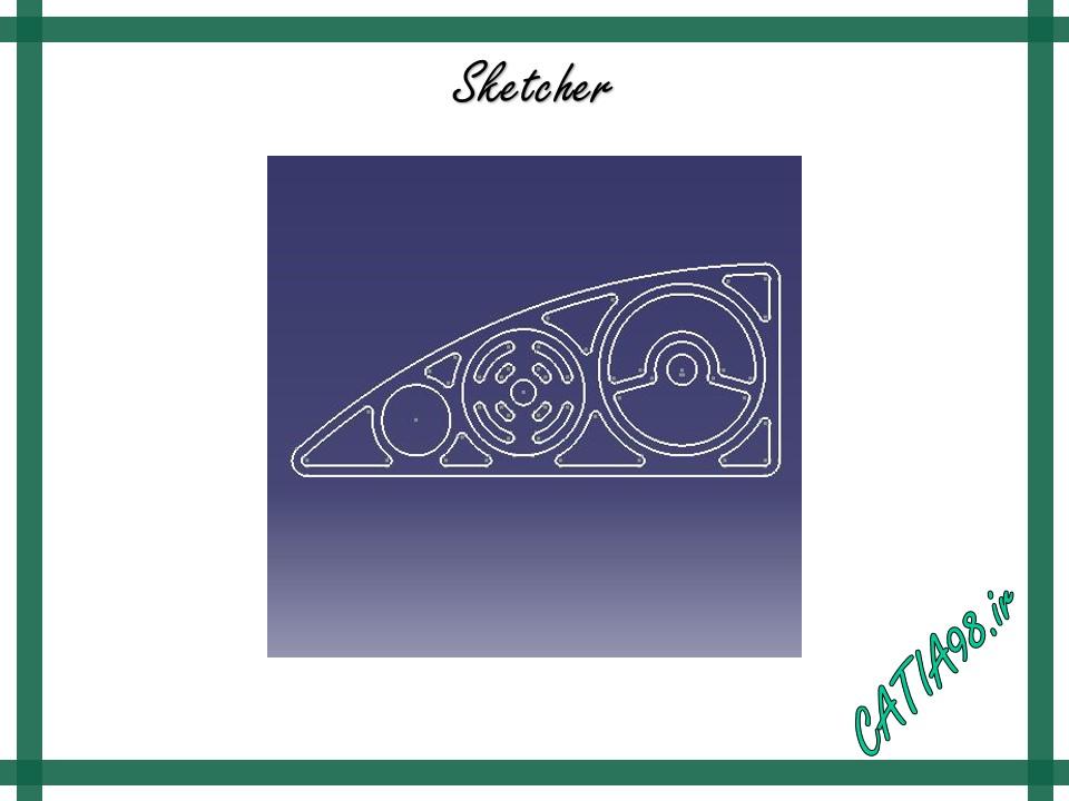 Sketcher No.32 - مجموعه تمرین های محیط Sketcher