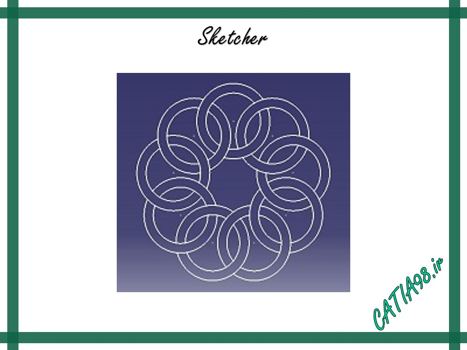 Sketcher No.5 - مجموعه تمرین های محیط Sketcher