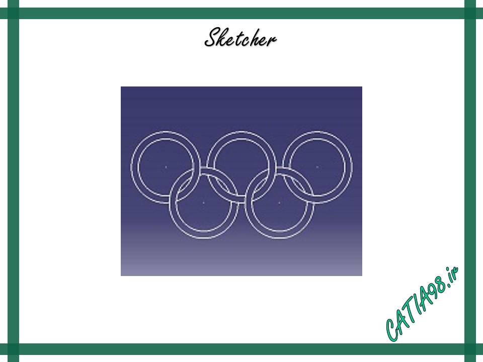 Sketcher No.6 - مجموعه تمرین های محیط Sketcher