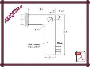 Slide15 300x225 - فایل آموزشی پانزدهم: تحلیل تنش در یک صفحه آلومینیومی با بار استاتیکی (Aluminium Bracket)