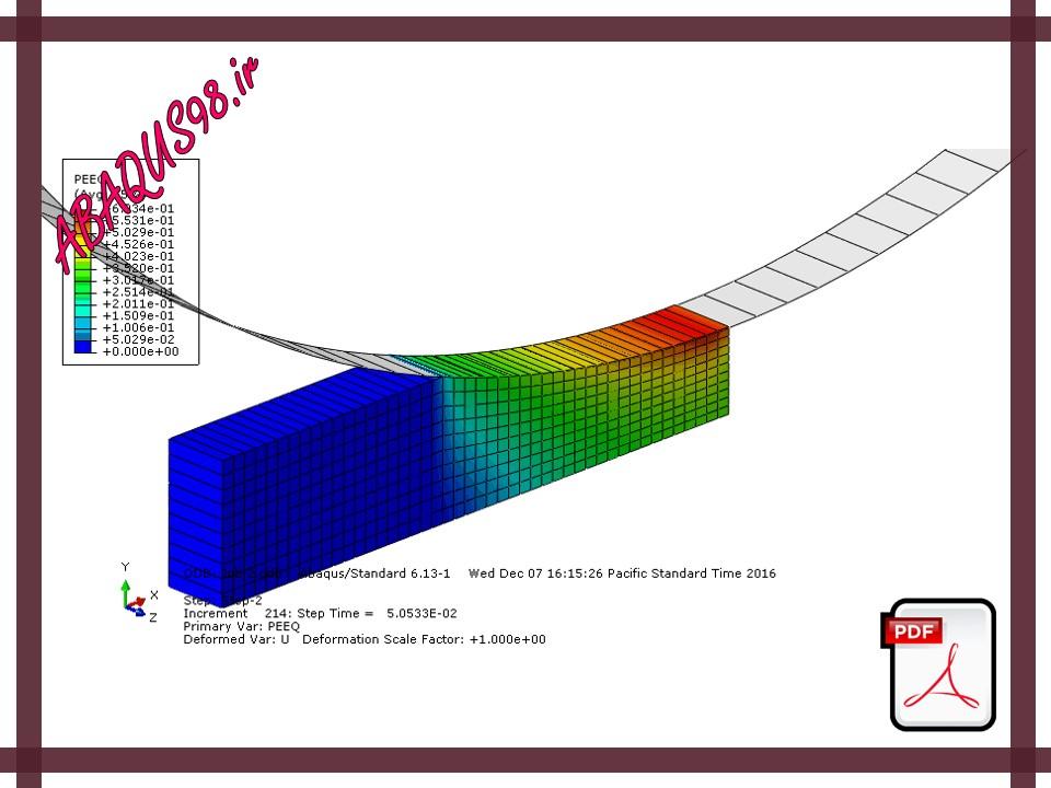 Slide20 - فایل آموزشی بیستم: فرایند نورد یک ورق ضخیم (Rolling of a Thick Plate)