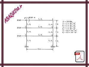 Slide27 300x225 - فایل آموزشی بیست و هفتم: مدل سازی قاب فلزی در آباکوس