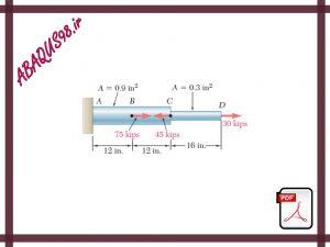 Slide55 300x225 - فایل آموزشی پنجاه و پنجم: تحلیل تنش و بررسی تغییر شکل اعضا در آباکوس